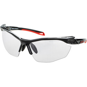 Alpina Twist Five HR VL+ Lunettes, black-red/black